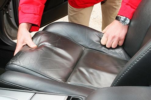 Как заменить кожу на сиденьях